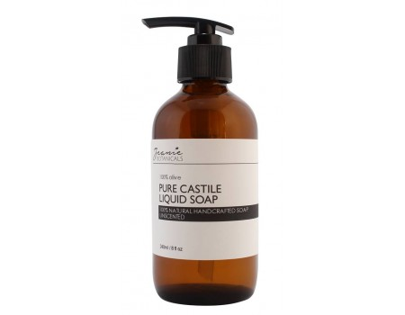 LIQUID CASTILE SOAP  (Eucalyptus/Orange/Spearmint)